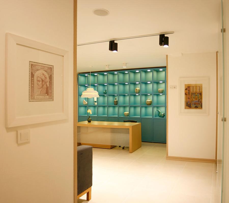 طراحی دکور کلینیک دندانپزشکی