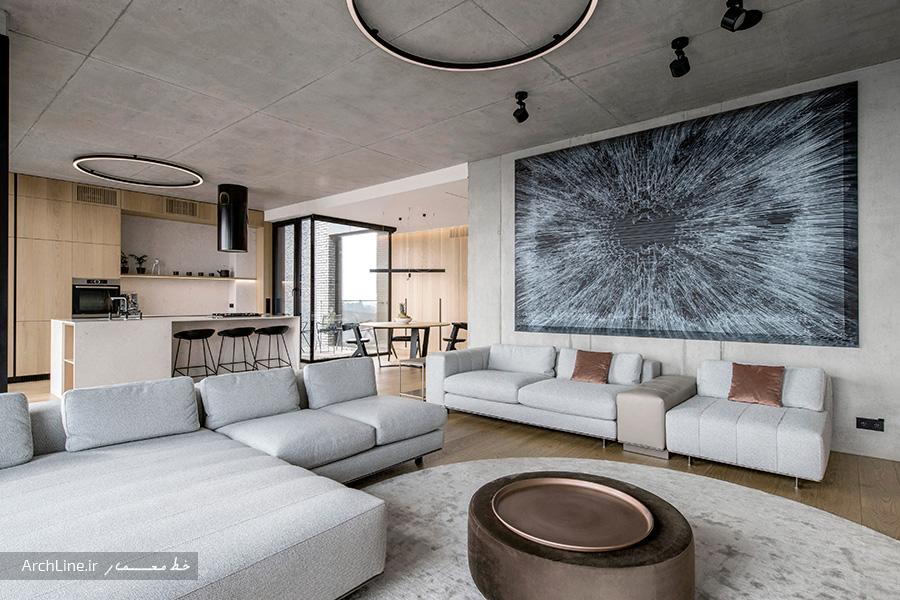 طراحی دکوراسیون داخلی آپارتمان
