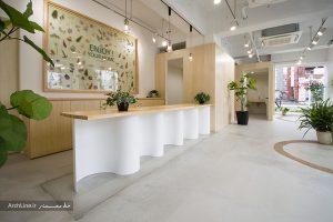 طراحی مدرن دفتر شرکت