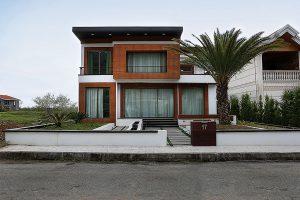 معماری ویلا محله هشت نمک آبرود