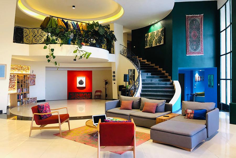 طراحی داخلی خانه سعدی