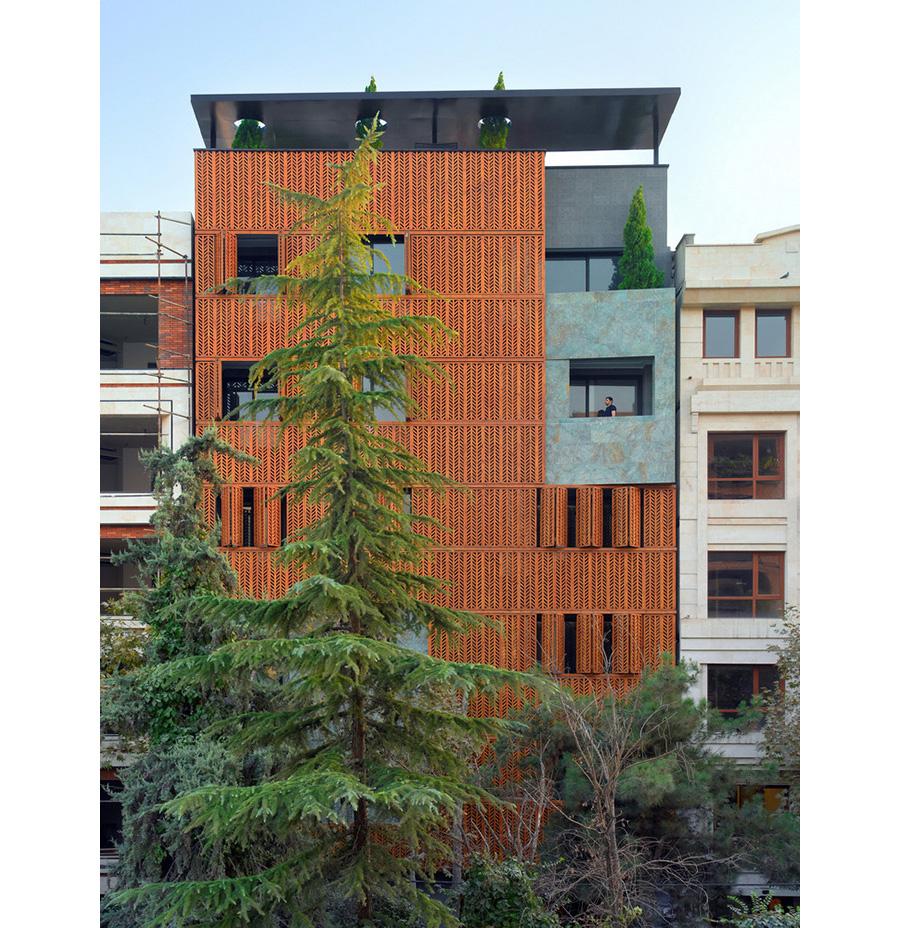 معماری ساختمان پردیس خانه