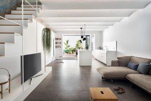 طراحی خانه دوبلکس کوچک ساده