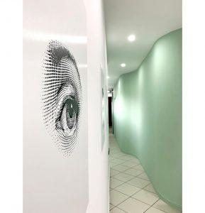 طراحی داخلی مطب چشم پزشکی