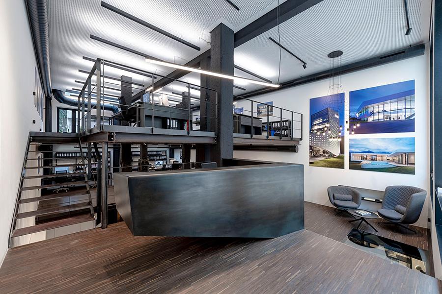 دکوراسیون دفترکار معماری