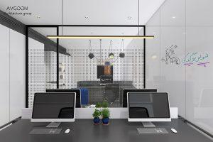 بهترین طراحی دفترکار