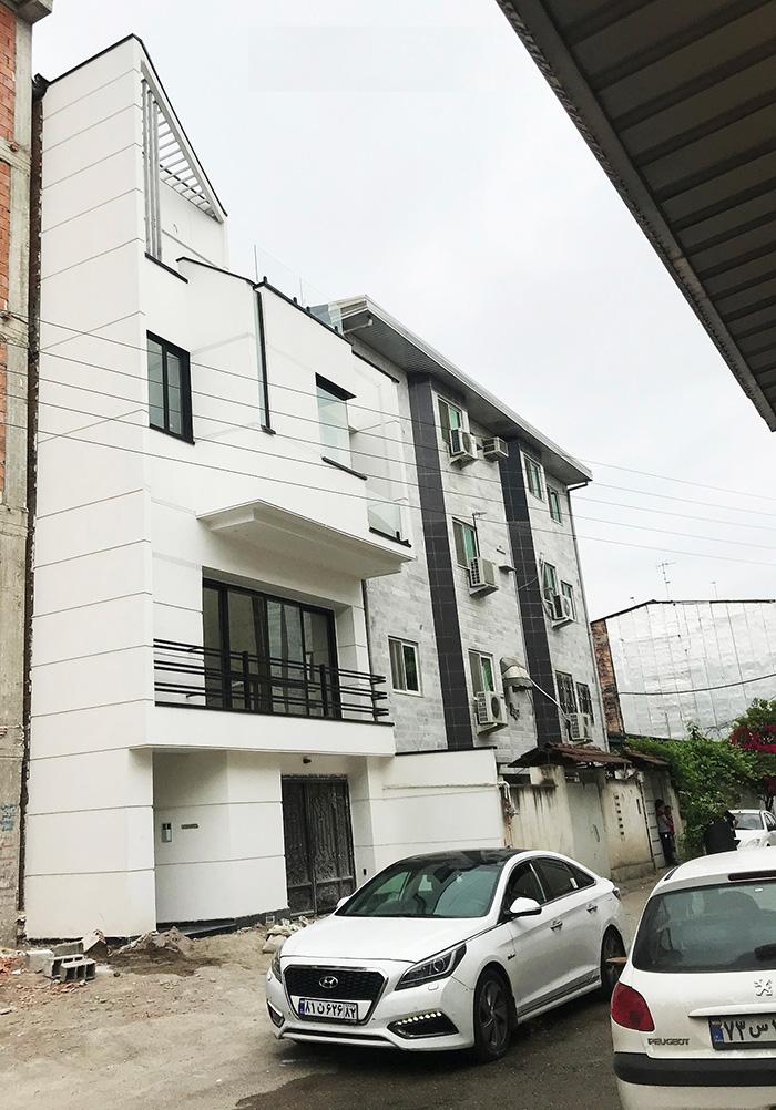 معماری خانه سفید رادان