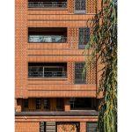 معماری ساختمان مسکونی قاب