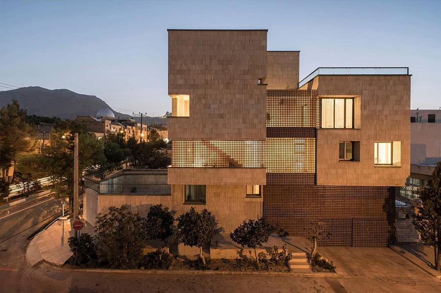 معماری خانه مربع