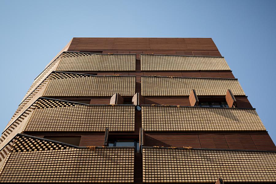 معماری ساختمان مسکونی چپیره