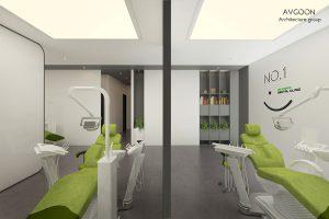 نمونه طراحی کلینیک و مطب