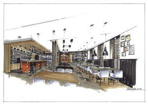انواع طراحی داخلی رستوران