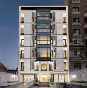 زیباترین نمای ساختمان ساده