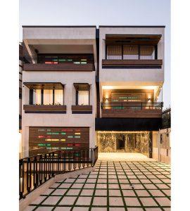 معماری خانه ارکیده