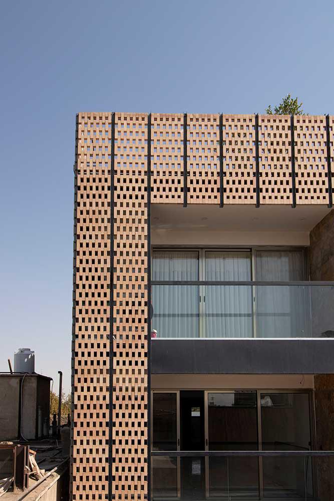 معماری ساختمان مسکونی نشاط