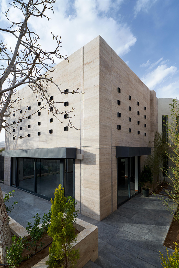 معماری خانه انجیر و گردو