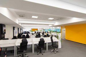 معماری ساختمان اداری همراه اول