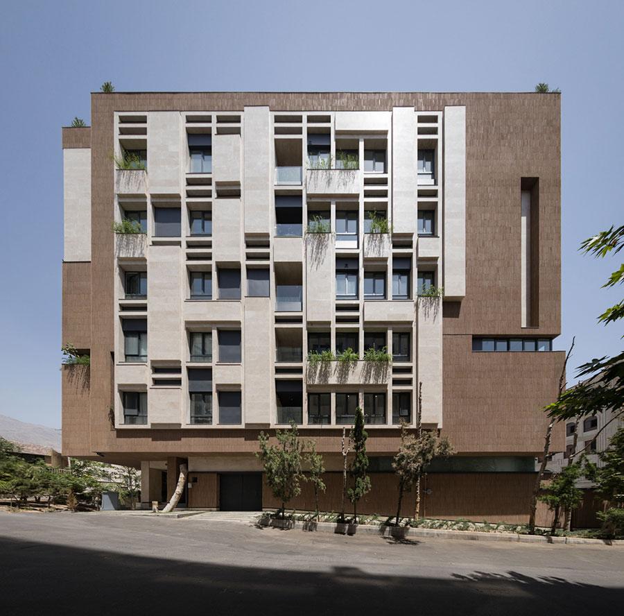 معماری ساختمان مسکونی پاییز 6