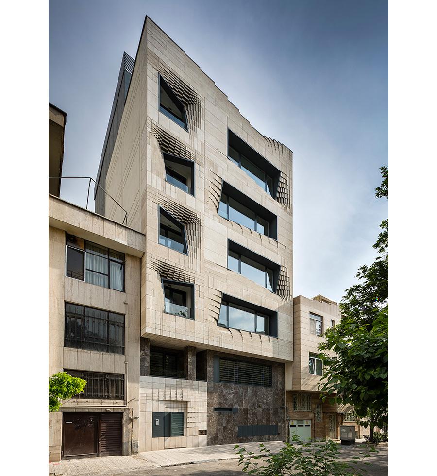 معماری ساختمان اداری سنگ نرم
