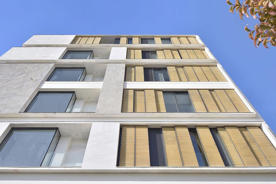معماری ساختمان مسکونی سپینود