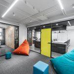 بازسازی و طراحی داخلی دفتر SNS