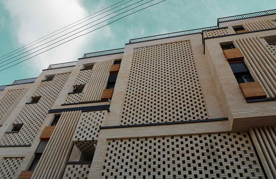 معماری مجموعه مسکونی سرزمین