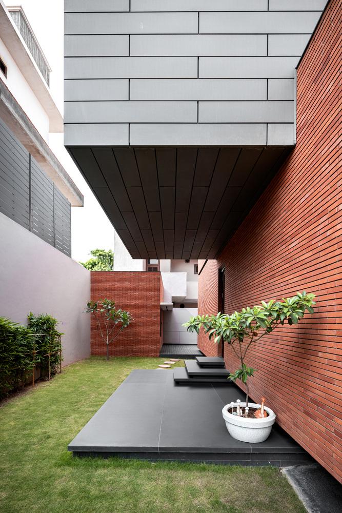 طراحی ویلا دو طبقه