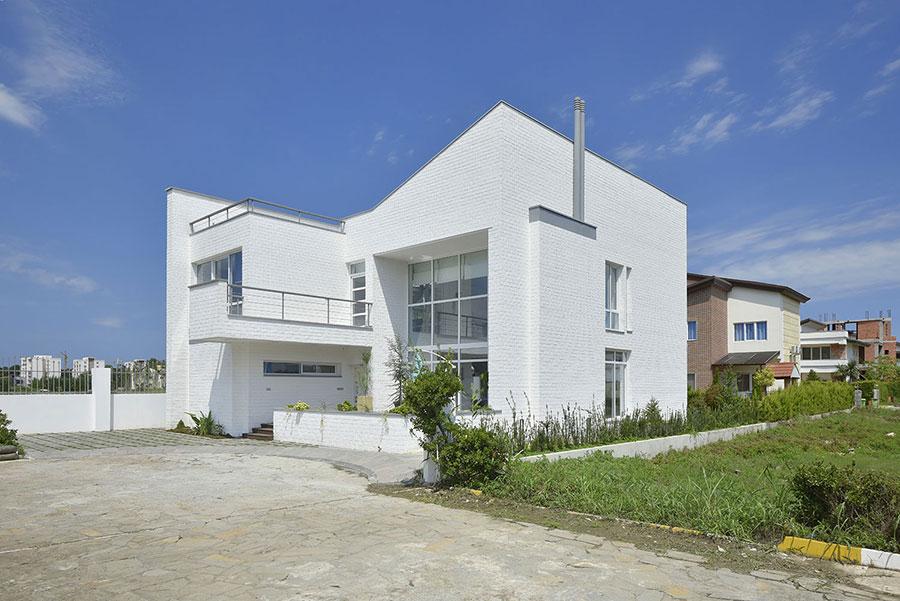 معماری ساختمان مسکونی الی