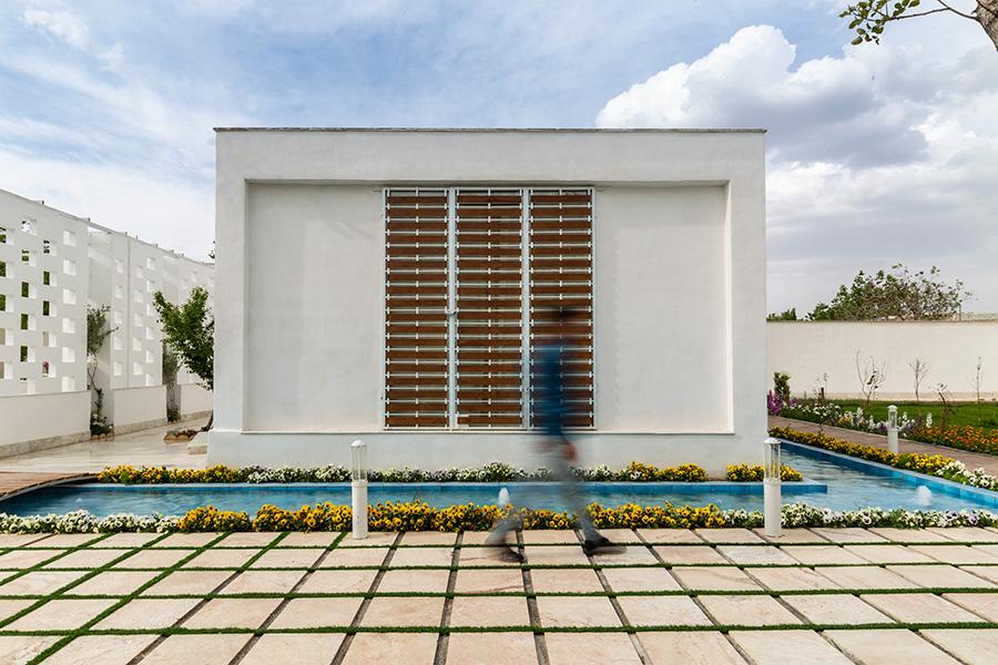 معماری ویلای آبرنگ
