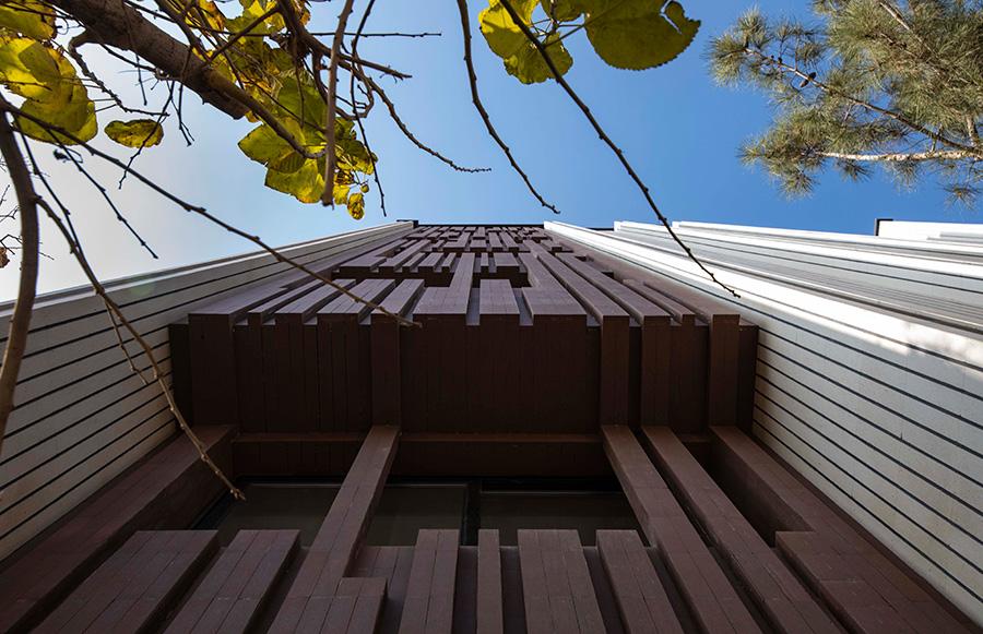 معماری ساختمان مسکونی کاجخانه