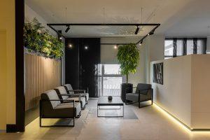 طراحی داخلی دفتر فروش کارخانه