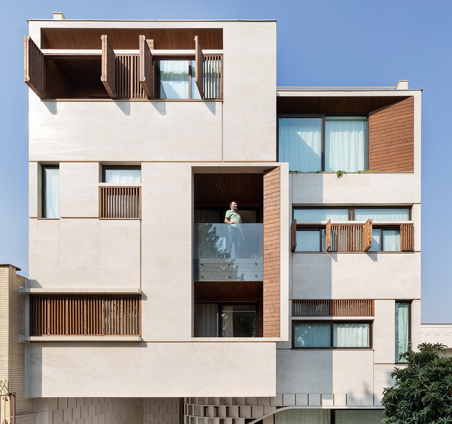 معماری ساختمان مسکونی مهر