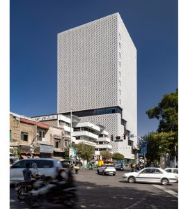 معماری ساختمان جدید پلاسکو